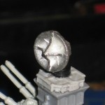 Warmonger Update #6: Installing the Radar dish, first assembly