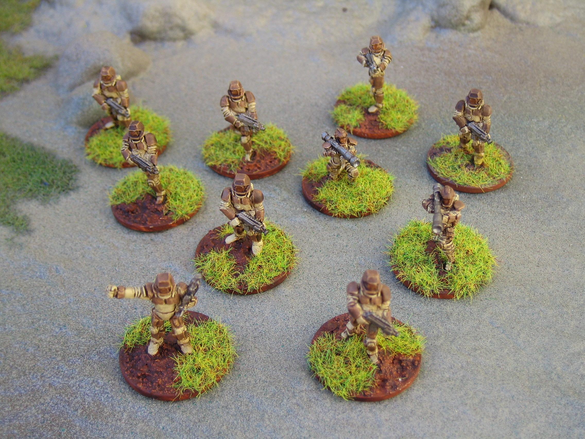 ARC Fleet miniatures from Critical Mass Games