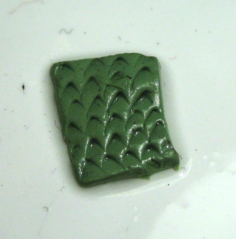 Green Stuff, finished design