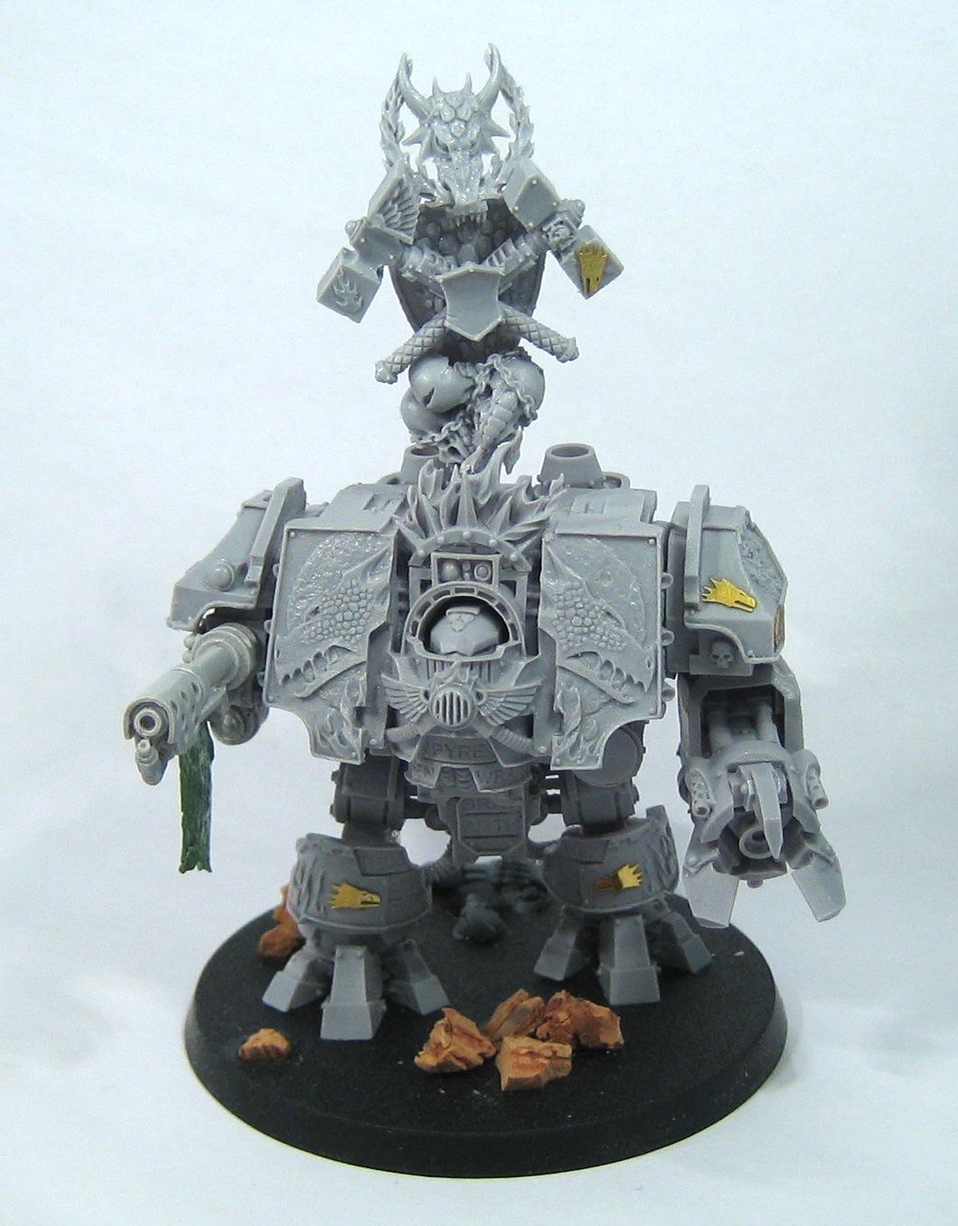 Bray'arth Ashmantle, Venerable Ironclad Dreadnought of the Salamanders