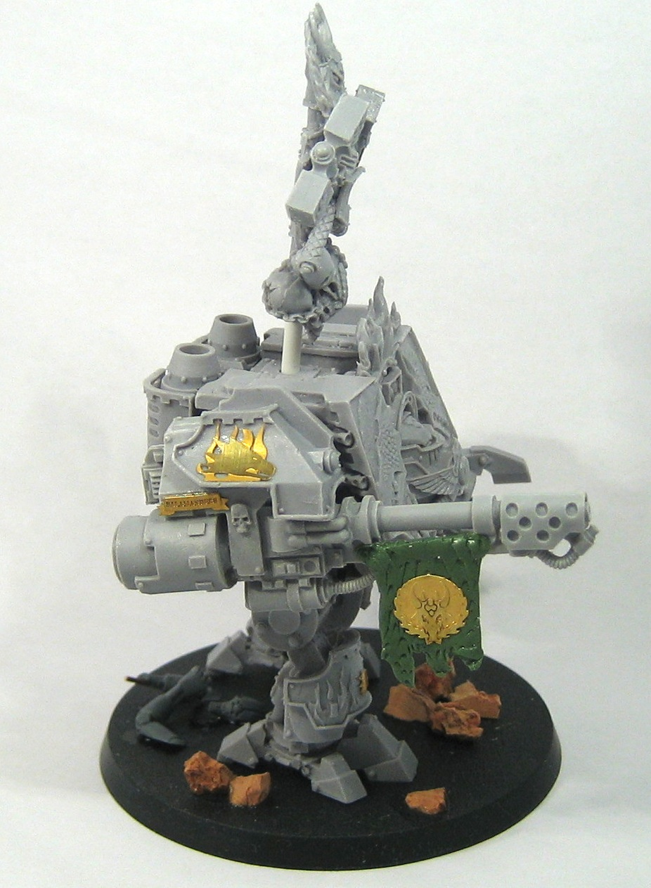 Bray'arth Ashmantle, Venerable Ironclad Dreadnought of the Salamanders
