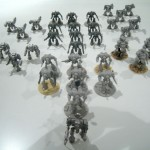 Knights: stripped and assembled