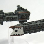 Battlefleet Gothic Falchion Class Escorts