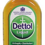 Cleaning brushes with Dettol