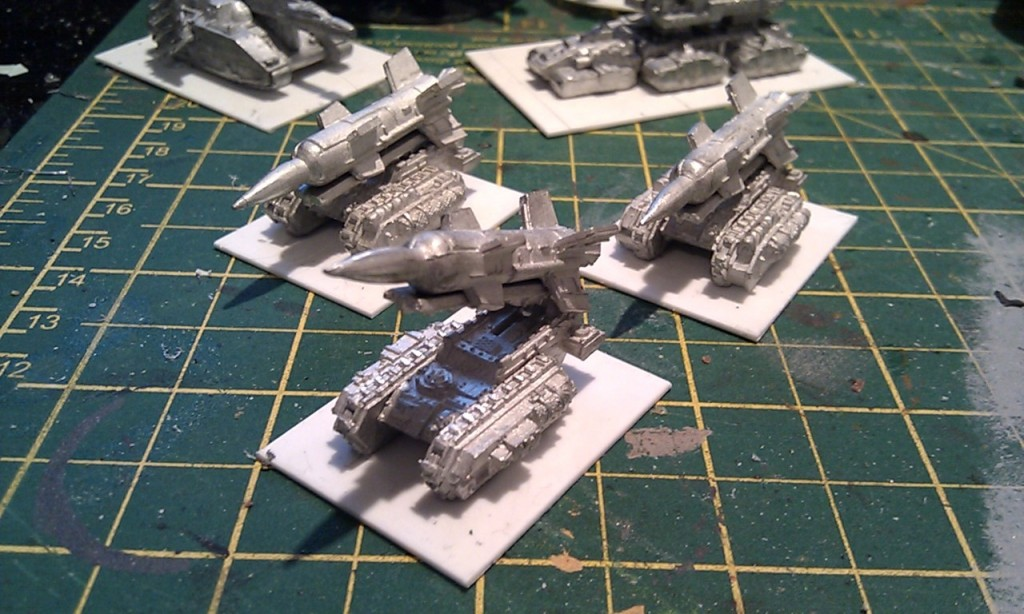 Deathstrike Missile Launchers