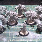 Khador models assembled