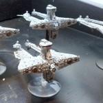 Battlefleet Gothic Demiurg Bastion Cruisers