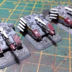 Epic Stormblades on Flames of War bases