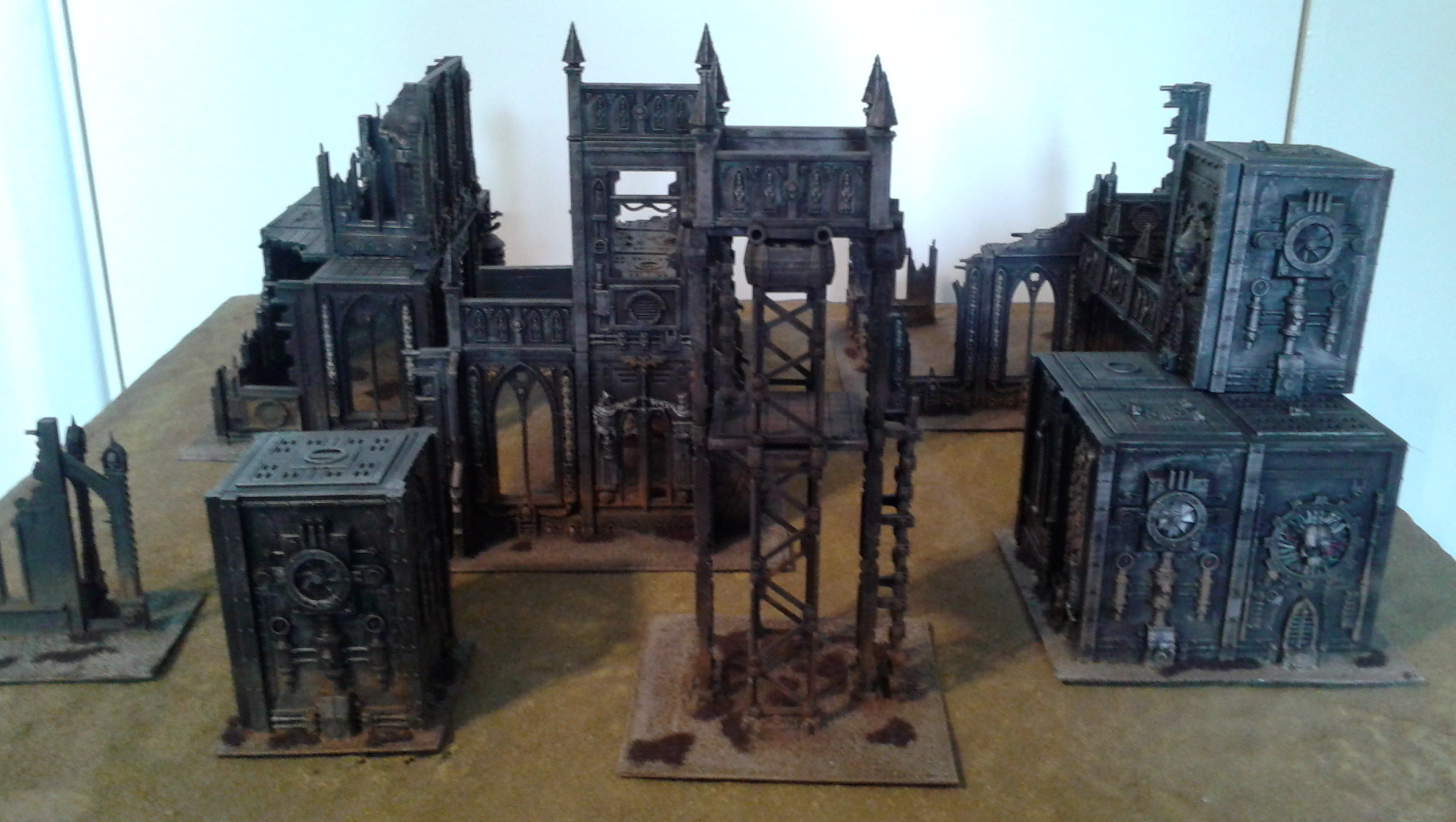 Warhammer 40000 Cities Of Death Terrain Jodrell Plays