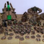 My Completed Warhammer 40,000 Necron Army