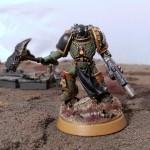 Kavan Bor'seth, Chapter Master of the Salamanders, Regent of Nocturne (M35)