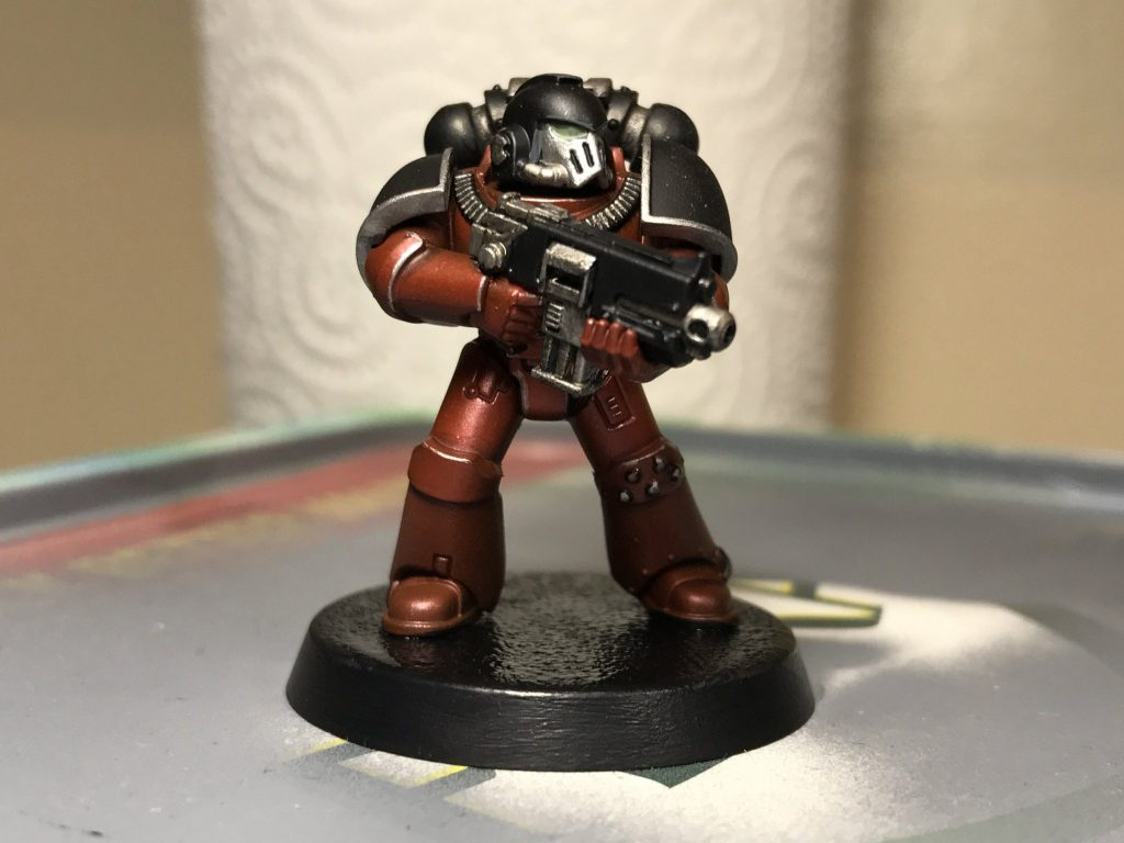 Word Bearers tactical marine